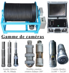 gamme caméras forage XP Well 3000